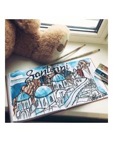 Santorini!