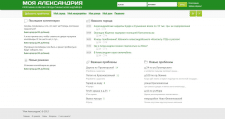 Разраб. дизайна и вёрстка страниц проекта соцсети