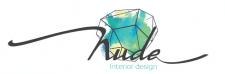 Логотип студии по дизайну интерьера NUDE