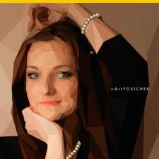 Векторный портрет