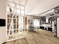 Однокомнатная квартира с перепланировкой