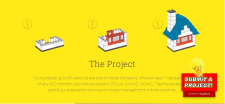 Hackathon bridge site on Wordpress