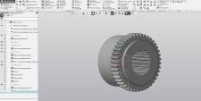 Выполнение модели детали