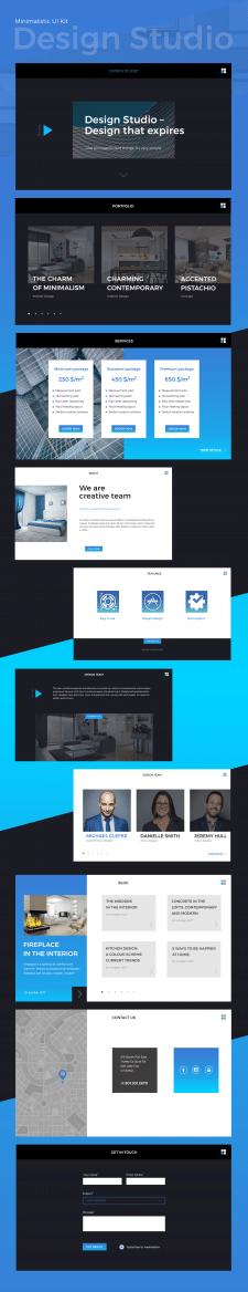 Minimalistic UI Kit