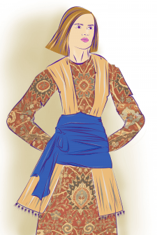 Fashion эскиз