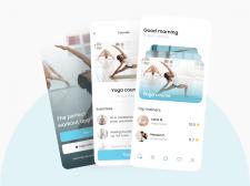 Дизайн мобильного приложения для фитнеса