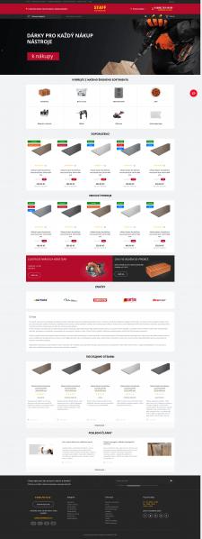 Интернет-магазин строительных материалов, Чехия