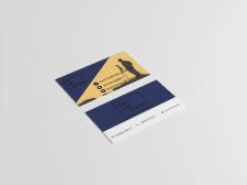 Двусторонняя визитка