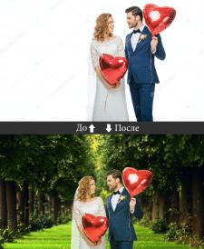 Замена фона