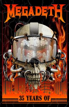 Poster for MEGADETH