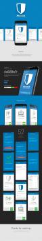 Дизайн landing-page приложения