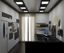 кабинет1 (программа: 3D Max)