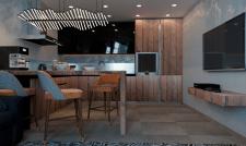 Дизайн проект квартиры-студии 53м2