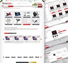 Renacom Интернет магазин Компьютерного сервиса и продажи техники