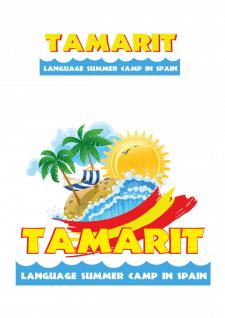 Логотип летнего лагеря в Испании