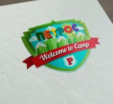логотип детского лагеря