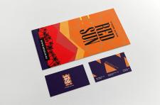 Дизайн для студии загара: флаер и визитка