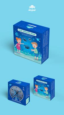 Дизайн упаковки для Skyper