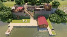 Проект террасирования части территории.