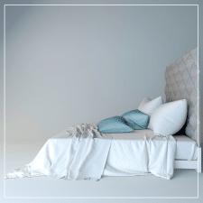 3д модель кровати