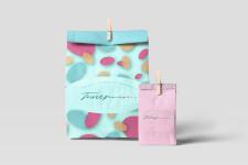 Дизайн пакетов для магазина рукоделия