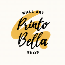Каллиграфическое лого Printo Bella