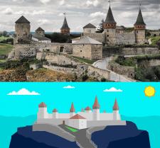 Дизайн иллюстации по исходному изображению