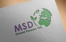 логотип для MSD Flower  (вариант дизайна)