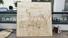 Карта San Francisco в векторе