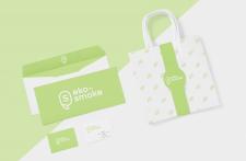 """Создание логотипа для компании """"Эко Смок"""""""