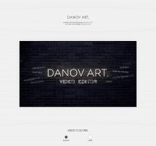 DANOV ART. YouTube cover