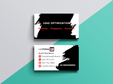 Дизайн визитки для сотрудника