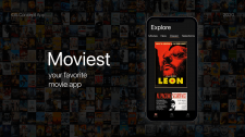 Дизайн кино-приложения для iOS