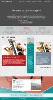Сайт под ключ salavavolleyball.com