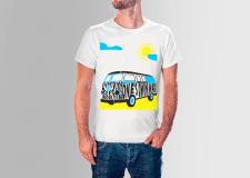 Оформление футболок, иллюстрация