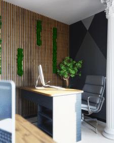 Дизайн интерьера офиса в г. Сургут