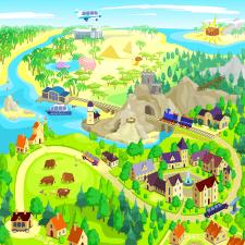 Игровая Карта Вектор