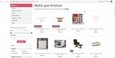 Наполнения интернет магазина мебели