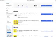 Размещение 46 позиций на eBay