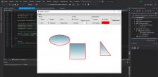Графический редактор. C# Windows Forms