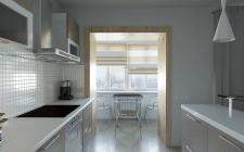 кухня-обеденный стол