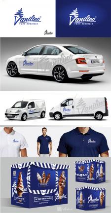 Логотип и ф.стиль для производителя мороженного