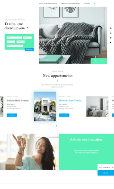 website apartments for rent