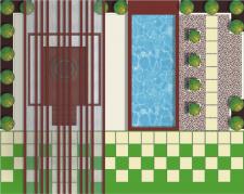 Генплан проекта благоустройства придомовой территории в современ