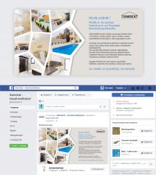 #Дизайн рекламного баннера#facebook#SAMOKAT#