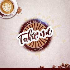 """Логотип для сети кофеен """"Take Me"""""""