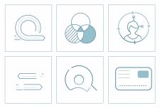Набір іконок для презентації