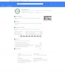 Поднятие рейтинга google page speed