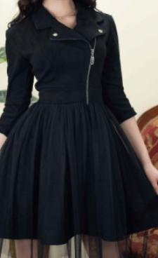 Платье-косуха – тренд сезона