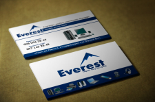 "Визитка компьютерного магазина ""Everest"""